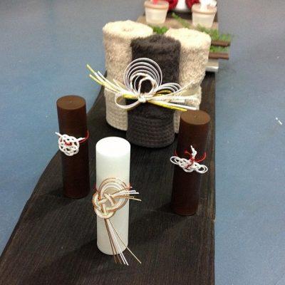 ボトルケース、タオルホルダー / Bottle case and Towel holder