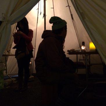 [event]夜茶会&正月飾りのイベント開催しました