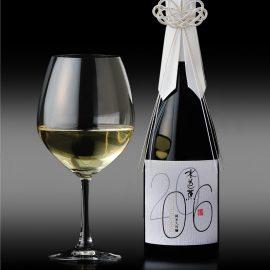 永井酒造「水芭蕉 Vintage2006」のボトル飾りを提供